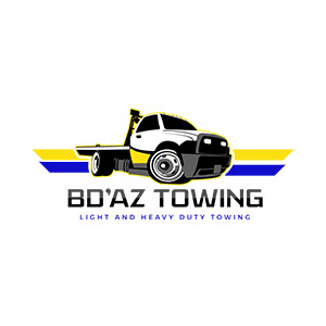 BD'AZ Towing Logo - On The Move Marketing