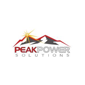 Peak Power Logo - On The Move Marketing